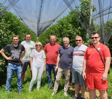 We hosted our friends from fruit growers association from Poland